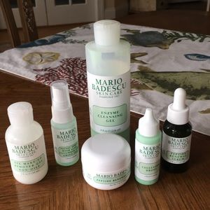 Six pc., Mario Badescu
